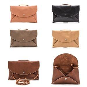 Handbags - Convertible Envelope Swing Clutch Pouch
